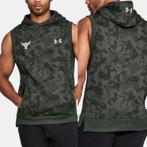 【UNDER ARMOUR x Rock】新作★送料込 ノーズリーブパーカー