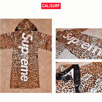Supreme Everlast Stain Hooded Boxing Robe-leopard M-XLサイズ