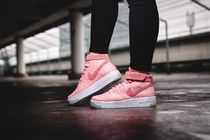 """★WMNS★[NIKE]AIR FORCE 1 FLYKNIT """"Bright Melon"""""""