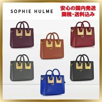 ◇ SOPHIE HULME ◇ Saddle Albion Box トート 【関税送料込】