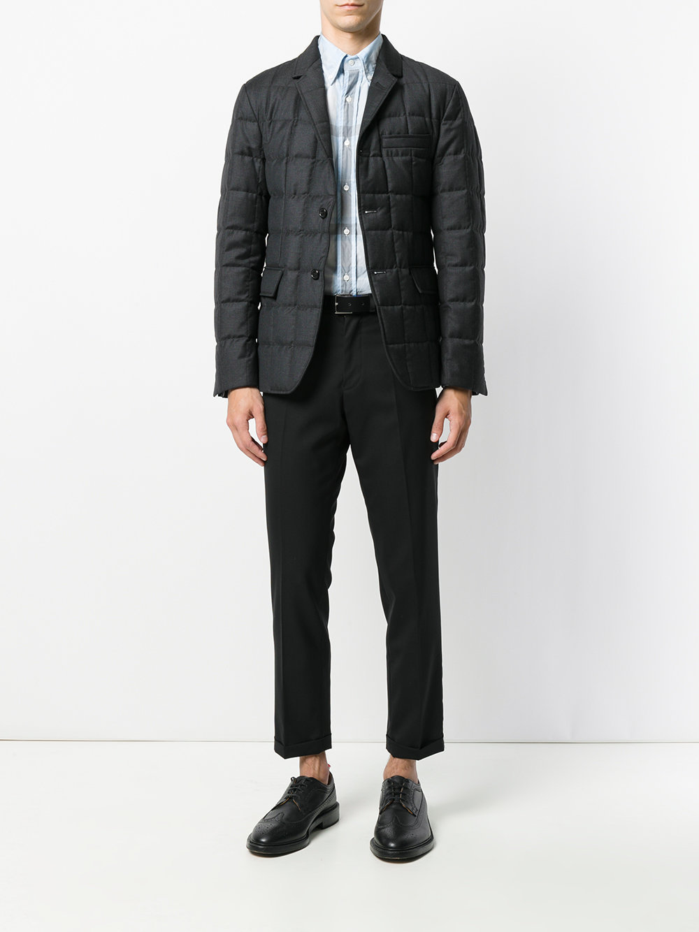 【17AW】THOM BROWNE/Down Classic Sports courtスーパー130's