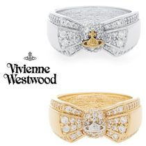 ◆VivienneWestwood◆キラキラリボンxオーブ♪Pamela Small Ring