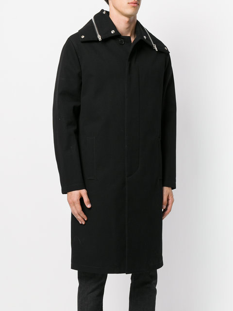 VIP SALE!国内発送☆ GIVENCHY ファスナー装飾 シングルコート