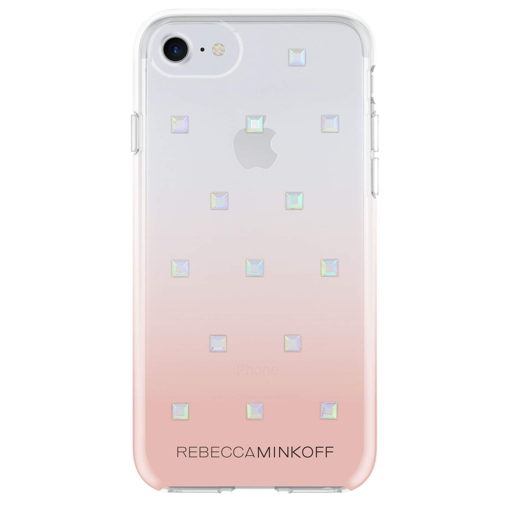 レベッカミンコフ Holo Studded iPhone 8, 8 Plus and X Case
