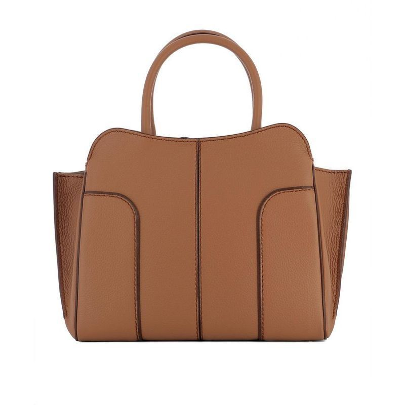 ◆◆VIP◆◆TOD'S トッズ Brown leather handle bag