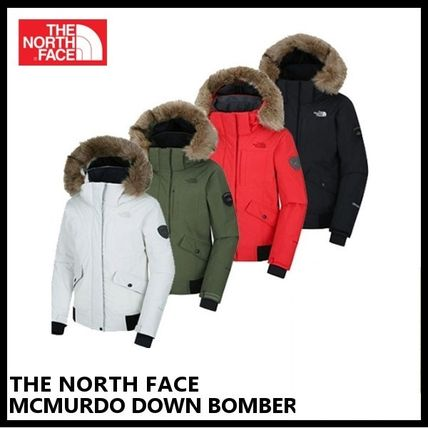 【THE NORTH FACE】W'S MCMURDO DOWN BOMBER JKT NFJ1DH85 4色
