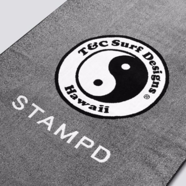 Town & Country Surf コラボ【STAMPD】7 Mile Towel 大判 タオル