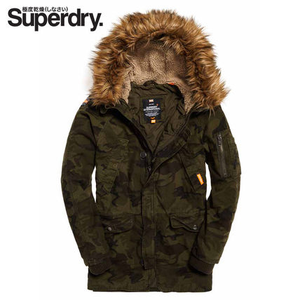 【Superdry】Rookie Heavy Weather Parka(カモ柄)