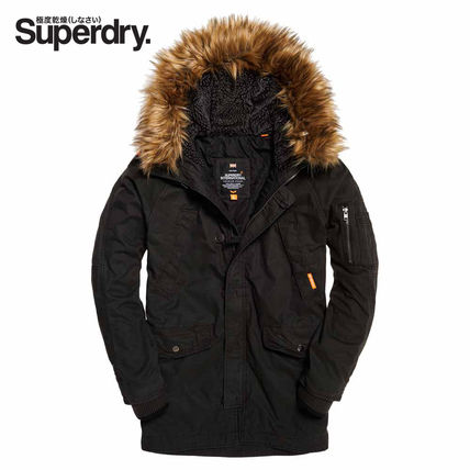 【Superdry】Rookie Heavy Weather Parka (black)