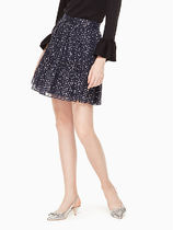 kate spade★night sky dot skirt★スカート★星★エレガント