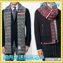 セレブ愛用者多数☆MONCLER☆signature stripe knitted scarf