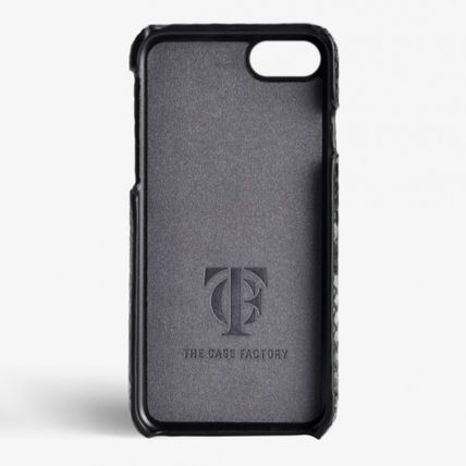 THE CASE FACTORY スマホケース・テックアクセサリー 国内発送☆THE CASE FACTORY☆iPhone 7/8 パイソン SUNSET BLUE(2)