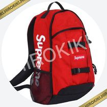 【14SS】入手困難★Supreme Logo Backpack Red バックパック 赤