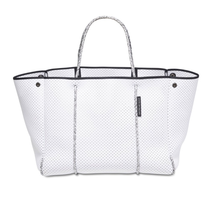 大人気!☆State of Escape☆ESCAPE BAG in White Blended Rope