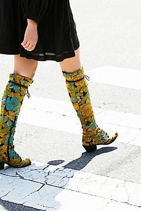 """Free People """"Floral Joe Lace Up Boot"""" (関送込)"""