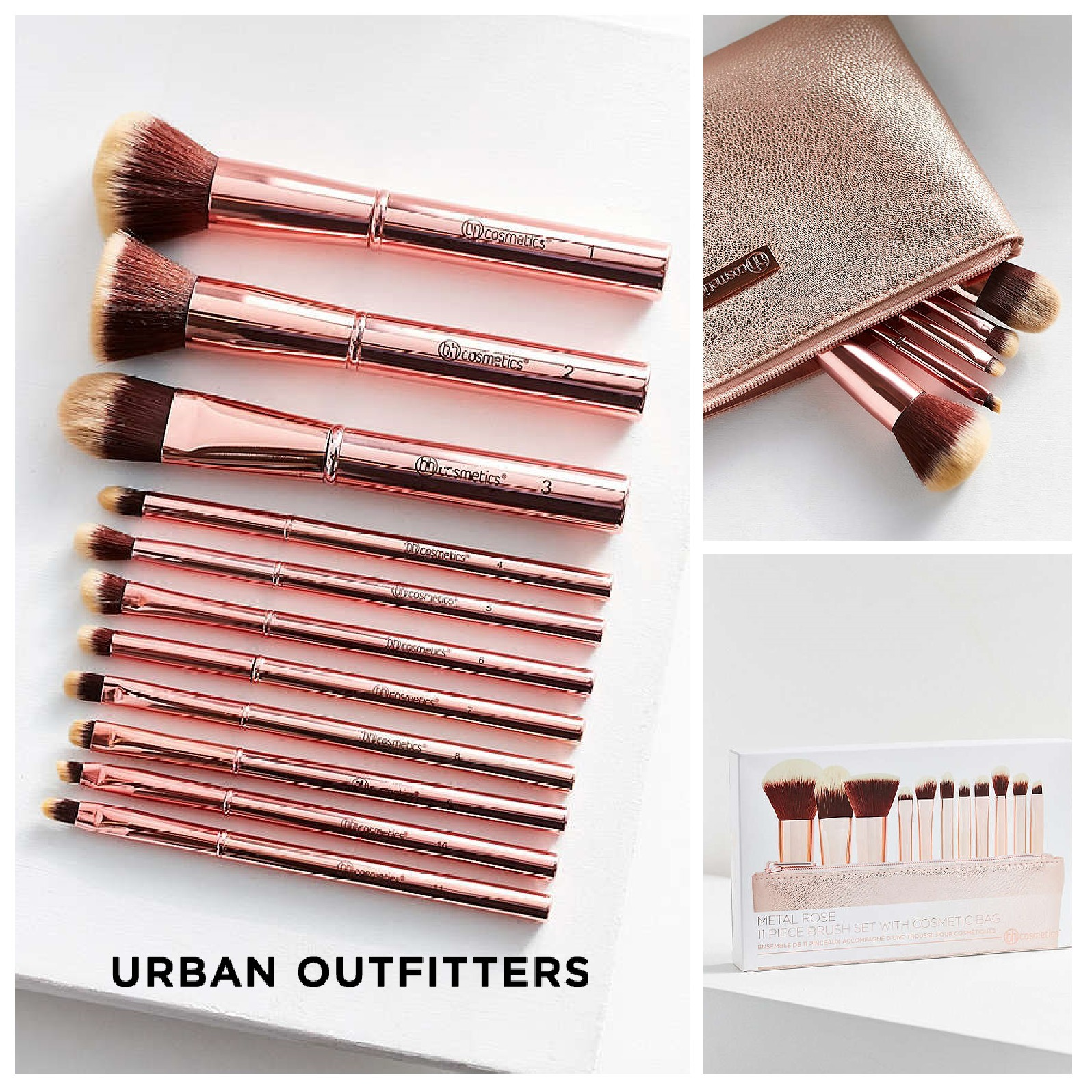 Urban Outfitters☆bh cosmetics 11 Piece Makeup Brush 税送込