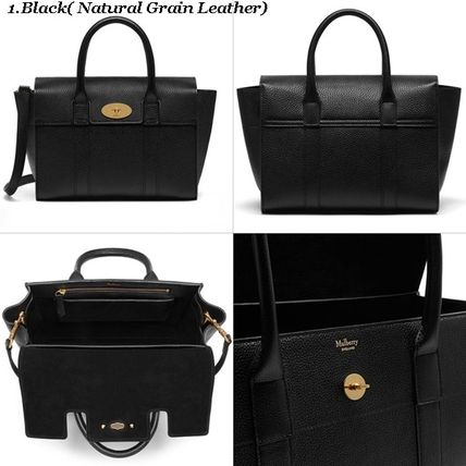 Mulberry トートバッグ Mulberry☆Small Bayswater Grain Leather カラー豊富!(2)