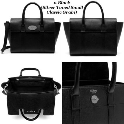 Mulberry トートバッグ Mulberry☆Small Bayswater Grain Leather カラー豊富!(3)