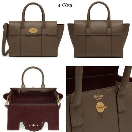 Mulberry トートバッグ Mulberry☆Small Bayswater Grain Leather カラー豊富!(5)