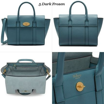 Mulberry トートバッグ Mulberry☆Small Bayswater Grain Leather カラー豊富!(6)