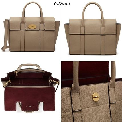 Mulberry トートバッグ Mulberry☆Small Bayswater Grain Leather カラー豊富!(7)