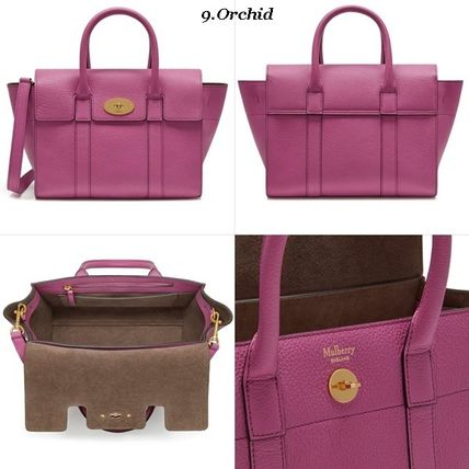 Mulberry トートバッグ Mulberry☆Small Bayswater Grain Leather カラー豊富!(10)