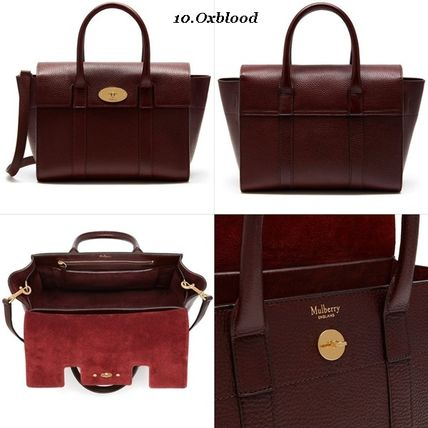 Mulberry トートバッグ Mulberry☆Small Bayswater Grain Leather カラー豊富!(11)