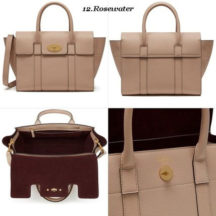 Mulberry トートバッグ Mulberry☆Small Bayswater Grain Leather カラー豊富!(13)