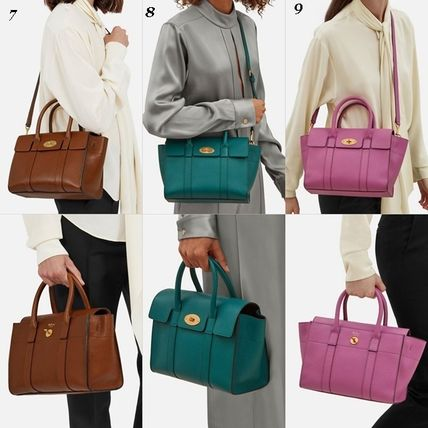 Mulberry トートバッグ Mulberry☆Small Bayswater Grain Leather カラー豊富!(16)