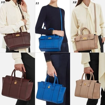 Mulberry トートバッグ Mulberry☆Small Bayswater Grain Leather カラー豊富!(17)