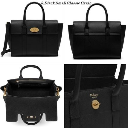 Mulberry トートバッグ Mulberry☆Small Bayswater Grain Leather カラー豊富!(4)