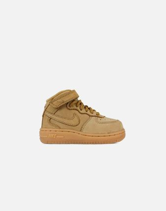 FW17 NIKE AIR FORCE 1 MID WHEAT TD 10-16cm 送料無料