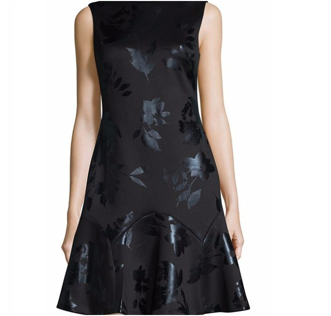 セール!★Ivanka Trump★Floral A-Line Dress