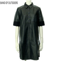 Band of Outsiders(バンドオブアウトサイダーズ) ワンピース BAND OF OUTSIDERS レディス レザーワンピース 768888