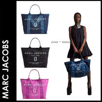 MARC JACOBS(マークジェイコブス) マザーズバッグ ★3-7日着/追跡&関税込【即発・MARC JACOBS】Newロゴトート/大