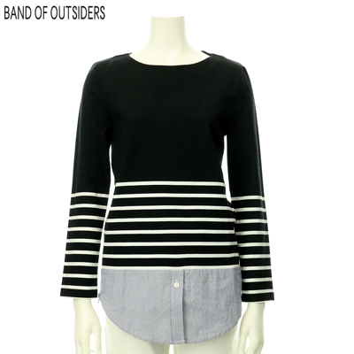 BAND OF OUTSIDERS レディス 重ね着風カットソー 765387