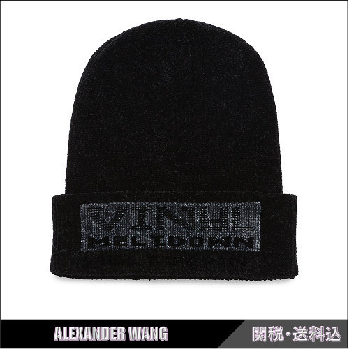 ALEXANDER WANG★VINLY MELTDOWN ビーニー ブラック