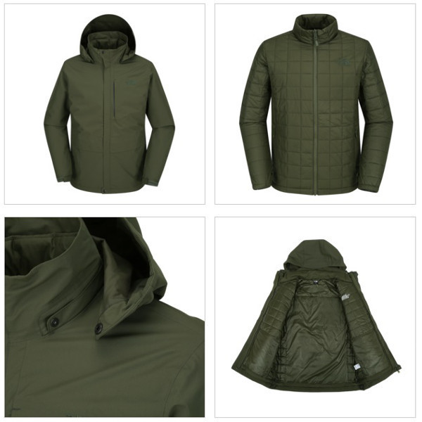 【THE NORTH FACE】M'S POWELL TRICLIMATE JACKET 3色 NJ2YI50A