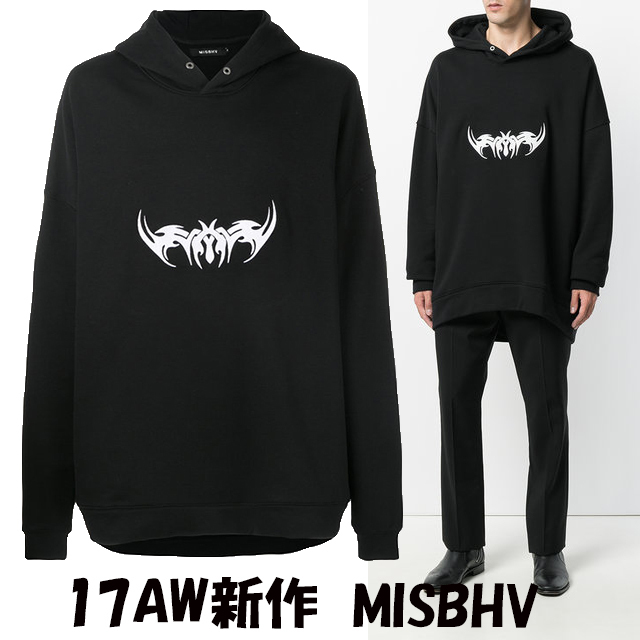 17AW新作 MISBHV ロングパーカー