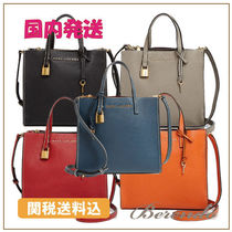 国内発送◆MARC JACOBS The Grind Mini Colorblock Leather Tote