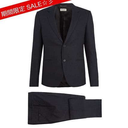 Saint Laurent サンローランSingle-breasted cotton suit