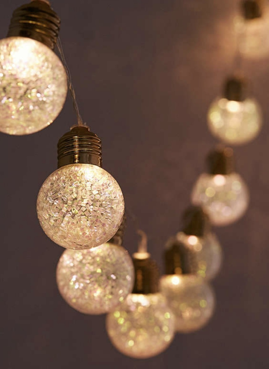 Glitter Globe String Lights