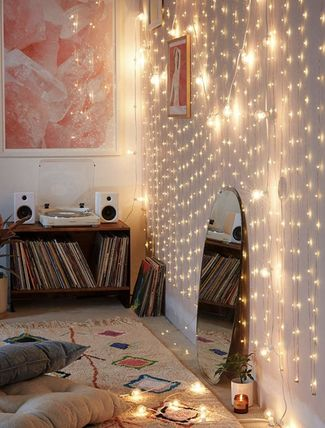 Urban Outfitters 照明 Extra Long Copper Firefly String Lights