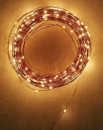 Urban Outfitters 照明 Extra Long Copper Firefly String Lights(3)