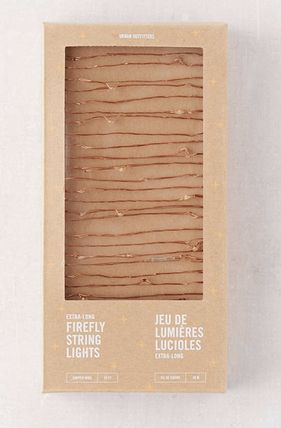 Urban Outfitters 照明 Extra Long Copper Firefly String Lights(5)