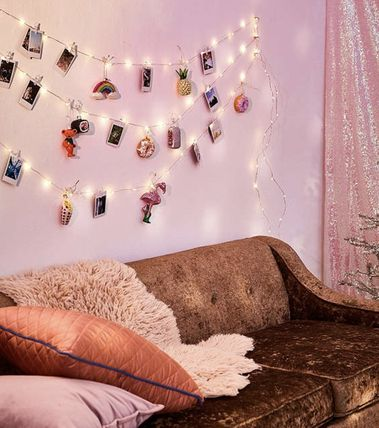 Urban Outfitters 照明 Photo Clip Firefly String Lights