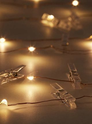 Urban Outfitters 照明 Photo Clip Firefly String Lights(3)