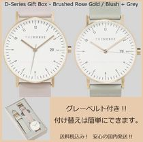 The Horse(ザ・ホース) アナログ時計 送料税込【The Horse】D-Series Gift Box(Watch+Strap)国内発送