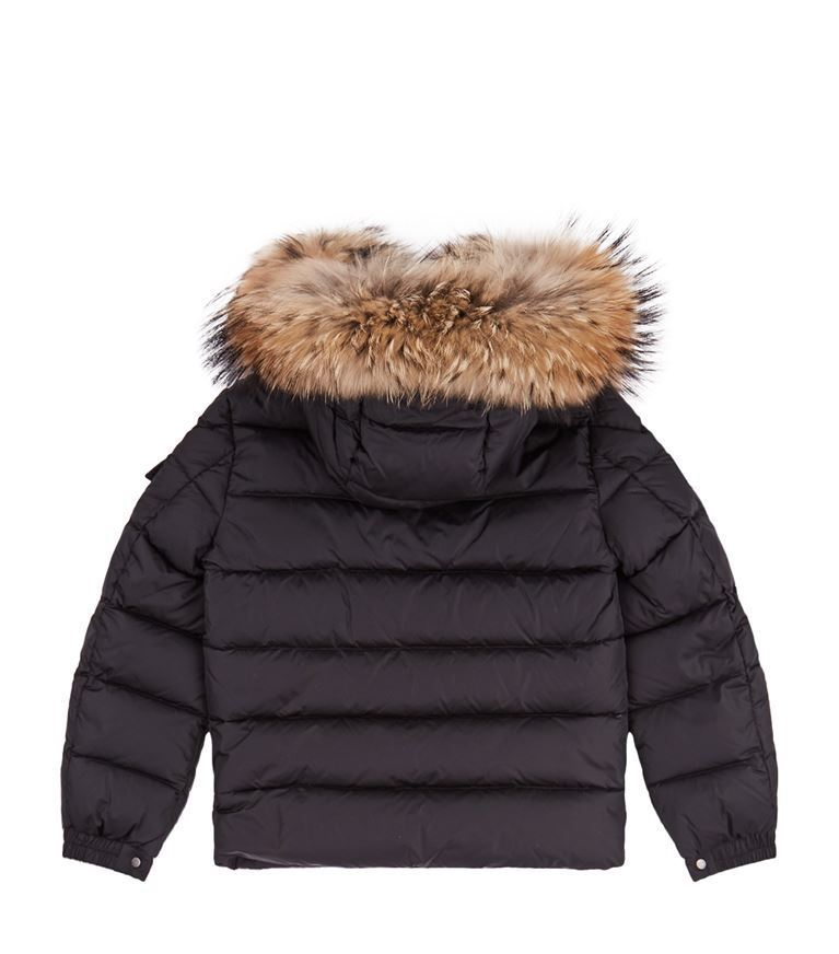 送料関税込!2018AW新作 MONCLER Byron Fur Trim Coat