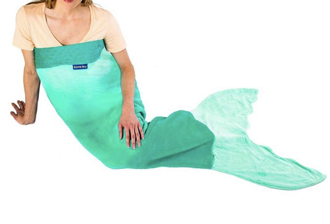 SNS映え抜群!Mermaid Tail Blanket for Adults and Teens